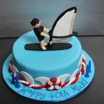 Mick the Windsurfer Cake