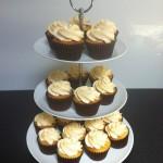 Vanilla Cupcake Stand