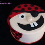 Pirate Face Cake