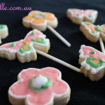Sugar Biscuits on sticks