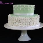 Vintage Green Cake