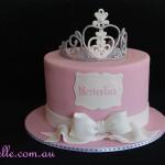 Pink Tiara Cake