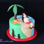 Bali Beach Cake