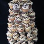Wedding Glasses Cupcakes