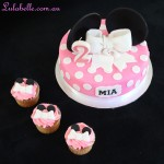 Minnie Cake and Cuppies