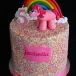 Pinkie Pie Pony Cake