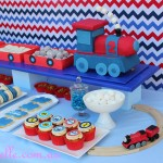 Train Dessert Table