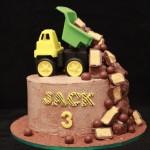 Tip Truck Cake