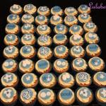 Baby Naming Day Cupcakes