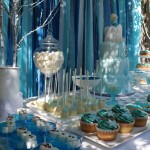 Frozen Inspired Dessert Table