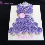 Purple Princess Cupcake Dress