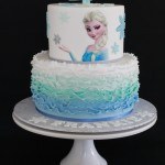 Queen Elsa Frozen Cake