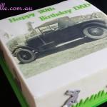 Customized Car Cake