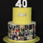 Collage Cake for Jim