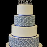 Damaske Wedding Cake
