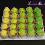 Ombre Green Mini Cupcakes