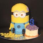 Minion Dave Cake
