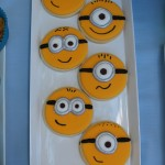 Minion Dessert Table Cookies