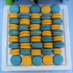 Minion Dessert Table Macarons