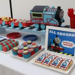Thomas the Tank Dessert Table