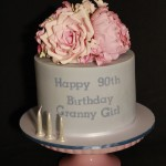 Granny Girl Floral Bouquet Cake